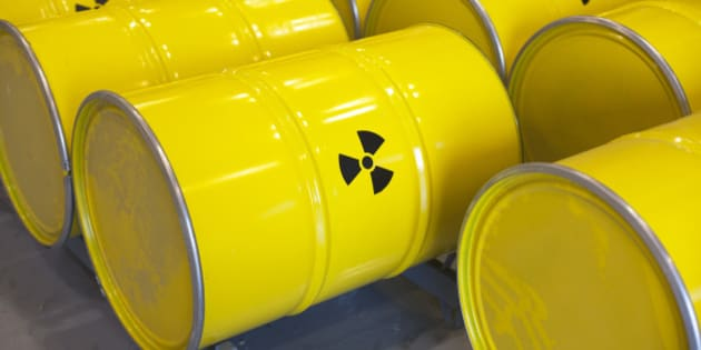 Nuclear waste.