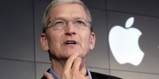 FILE - In this April 30, 2015, file photo, Apple CEO Tim Cook responds to a question during a news conference at IBM Watson headquarters, in New York. Apple has confirmed that it's expecting an uncharacteristic decline in sales in the spring of 2016, amid signs of global economic weakness and overall slowing demand for new smartphones. So anticipation is building around Apple's next iPhones, as investors and tech enthusiasts speculate over what might get the iconic Silicon Valley company back on the path to growth. (AP Photo/Richard Drew, File)