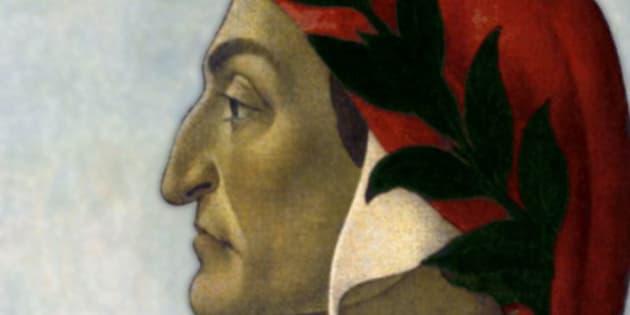 Portrait of Dante by Botticelli, 1495