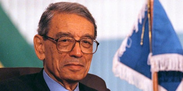 UN Secretary-General Boutros Boutros-Ghali applauds a speaker during the final day of the Organization of African Unity (OAU) Summit in Yaounde, Cameroon, Wednesday, July 10, 1996. Rwandan President Pasteur Bizimungu said Wednesday that Boutros-Ghali had betrayed all of Africa during Rwanda s genocide and urged leaders to support another African candidate to head the world body. (AP Photo/David Guttenfelder)