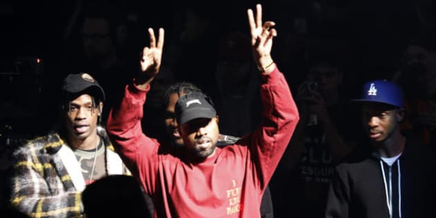 "FILE - In this Feb. 11, 2016 file photo, Kanye West gestures to the audience at the unveiling of the Yeezy collection and album release for his latest album, ""The Life of Pablo,"" at Madison Square Garden in New York.  Former pharmaceutical CEO and government target Martin Former pharmaceutical CEO and government target Martin Shkreli continues his attempts to build up his music collection. After spending $2 million for the sole copy of Wu-Tang Clan's ""Once Upon a Time in Shaolin."" late last year, the 32-year-old former hedge fund manager is now offering $10 million for Kanye West's new album. (AP Photo/Bruce Barton)"