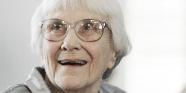 """FILE - In this Aug. 20, 2007, file photo, author Harper Lee smiles during a ceremony honoring the four new members of the Alabama Academy of Honor at the Capitol in Montgomery, Ala. """"To Kill a Mockingbird"""" author Harper Lee, 89, is among the inaugural inductees for the Alabama Writers Hall of Fame, Monday, June 8, 2015. (AP Photo/Rob Carr, File)"""