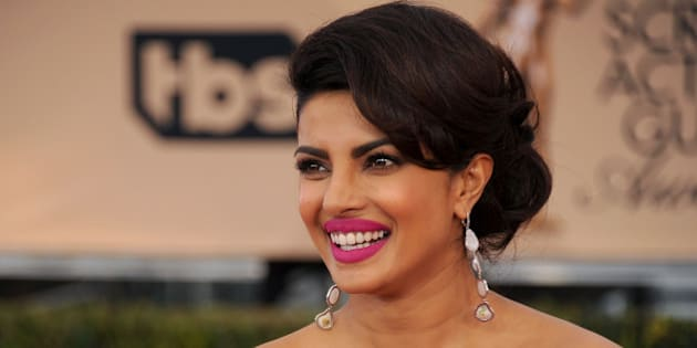 LOS ANGELES, CA - JANUARY 30:  Actress Priyanka Chopra arrives at the 22nd Annual Screen Actors Guild Awards at The Shrine Auditorium on January 30, 2016 in Los Angeles, California.  (Photo by Gregg DeGuire/WireImage)