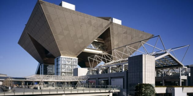 Big sight International Exhibition hall, Tokyo, Japan, Asia