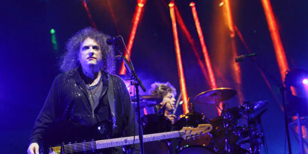 The Cure perform on Day 2 of the 2013 Austin City Limits Music Festival at Zilker Park on Saturday, Oct. 5, 2013 in Austin, Texas. (Photo by Jack Plunkett/Invision/AP)