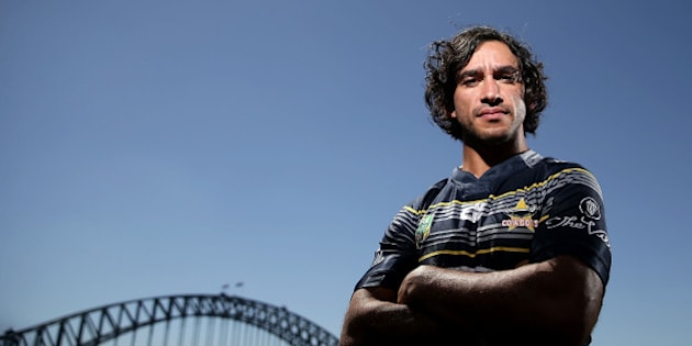 SYDNEY, AUSTRALIA - FEBRUARY 25:  Cowboys captain Johnathan Thurston poses during the 2016 NRL Season Launch at Sydney Botanical Gardens on February 25, 2016 in Sydney, Australia.  (Photo by Mark Metcalfe/Getty Images)