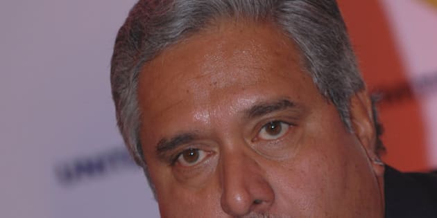 BANGALORE, INIDA  APRIL 7: Vijay Mallya, Chairman UB Group has announced that it has crossed the milestone of clocking the sales volume of 100 million cases for the fiscal year ended April 7, 2010 in Bangalore, India. (Photo by Hemant Mishra/Mint via Getty Images)
