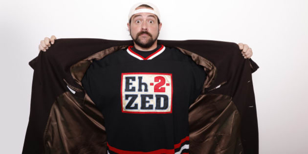 "Filmmaker Kevin Smith poses for a portrait to promote the film, ""Yoga Hosers,"" at the Toyota Mirai Music Lodge during the Sundance Film Festival on Sunday, Jan. 24, 2016 in Park City, Utah. (Photo by Matt Sayles/Invision/AP)"