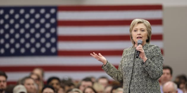 Democratic presidential candidate Hillary Clinton speaks at Meharry Medical College Sunday, Feb. 28, 2016, in Nashville, Tenn. (AP Photo/Mark Humphrey)
