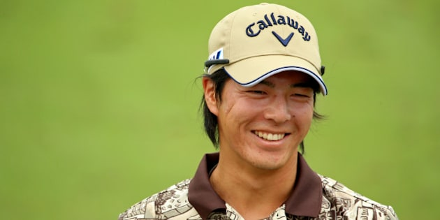 LOUISVILLE, KY - AUGUST 05:  Ryo Ishikawa of Japan smiles during a practice round prior to the start of the 96th PGA Championship at Valhalla Golf Club on August 5, 2014 in Louisville, Kentucky.  (Photo by Andrew Redington/Getty Images)