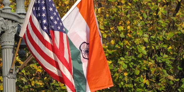 The White House vicinity was decorated with flags of America and India, welcoming the visit of Prime Minister of India, Dr. Manmohan Singh to meet President Barack Obama on Nov 24th.
