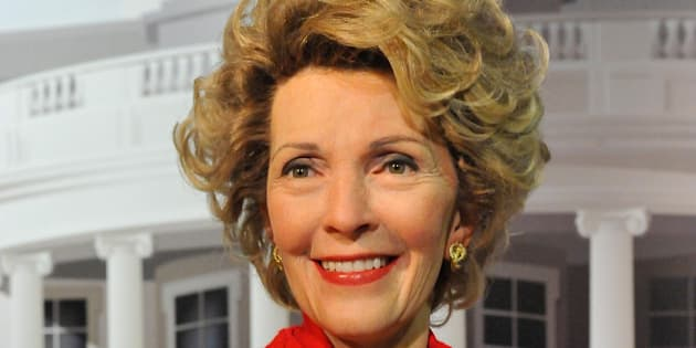WASHINGTON, DC - FEBRUARY 18:  A wax figure of Former First Lady of the United States Nancy Reagan is unveiled at Madame Tussauds Washington D.C. on February 18, 2014 in Washington, DC.  (Photo by Larry French/Getty Images)