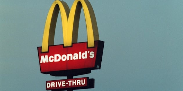 (AUSTRALIA & NEW ZEALAND OUT) A McDonald's Drive Thru sign, 18 January 2000. AFR Picture by MICHELE MOSSOP (Photo by Fairfax Media via Getty Images)