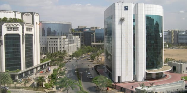 Bandra-Kurla Complex where SEBI, NSE, Bank of India , ICICI Bank and so on have their HQ.