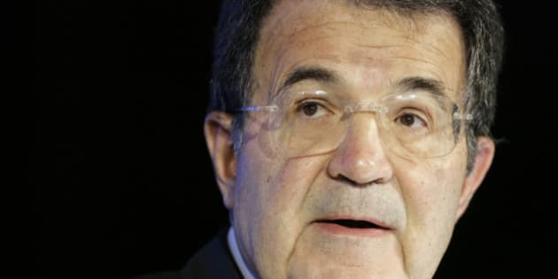 Italian outgoing premier Romano Prodi delivers his speech at the official opening of the 11th International Energy Forum, in Rome, Monday, April 21, 2008. Government ministers from oil-rich nations and international oil company executives were meeting in Rome for a three-day energy conference that ends Tuesday. (AP Photo/Andrew Medichini)