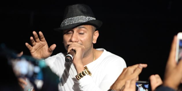 Yo Yo Honey Singh | SLAM The Tour - 20 September 2014 - IZOD Center, East Rutherford, New Jersey. Photo by James C. Dooley