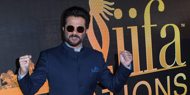 MADRID, SPAIN - MARCH 14:  Actor Anil Kapoor attends the 17th International Indian Film Academy (IIFA) awards press conference at the Retiro Park on March 14, 2016 in Madrid, Spain  (Photo by Pablo Cuadra/WireImage)