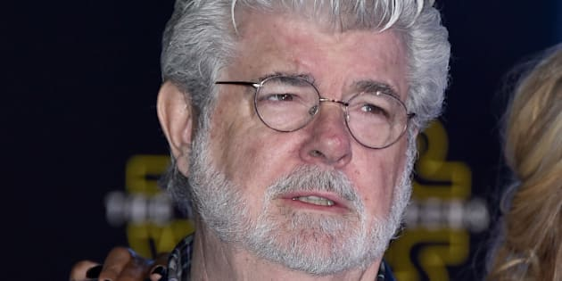 "George Lucas arrives at the world premiere of ""Star Wars: The Force Awakens"" at the TCL Chinese Theatre on Monday, Dec. 14, 2015, in Los Angeles. (Photo by Jordan Strauss/Invision/AP)"