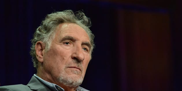 """Judd Hirsch on stage during the """"Forever"""" panel at the Disney/ABC Television Group 2014 Summer TCA at the Beverly Hilton Hotel on Tuesday, July 15, 2014, in Beverly Hills, Calif. (Photo by Richard Shotwell/Invision/AP)"""