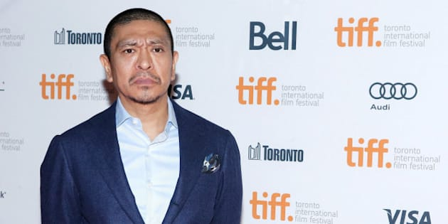 TORONTO, ON - SEPTEMBER 12:  Director Hitoshi Matsumoto attends the premiere of 'R100' at Ryerson Theatre on September 12, 2013 in Toronto, Canada.  (Photo by Jemal Countess/Getty Images)