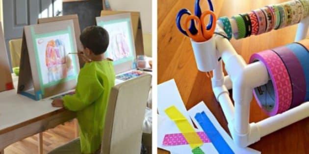 Craft Storage: Hacks To Make Kidsu0027 Craft Time Less Messy