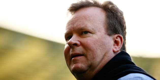 LONDON, ENGLAND - OCTOBER 09:  Bill Pulver, CEO of the Australian Rugby Union attends the Australia Captain's Run ahead of the 2015 Rugby World Cup Pool A match against Wales at Twickenham Stadium on October 9, 2015 in London, United Kingdom.  (Photo by Dan Mullan/Getty Images)