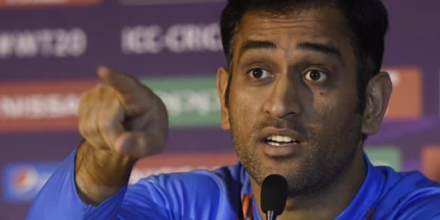 "KOLKATA, INDIA - MARCH 8: Indian captain MS Dhoni holds his pre-tournament ICC T20 World Cup 2016 press conference at Taj, on March 8, 2016 in Kolkata, India. Dhoni said that his team cannot afford to take things for granted given the format's fickle nature. He also said, ""I think we are running on sixth gear. Technology has gone into the eighth gear but the kind of stuff we are doing on the field is adequate for any level of game. We have to see the focus should be on from the very first ball. I think everything is set, there're not anymore gears to operate on. I am really quite happy with the progress."" (Photo by Ashok Nath Dey/Hindustan Times via Getty Images)"