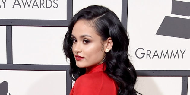 LOS ANGELES, CA - FEBRUARY 15:  Recording artist Kehlani attends The 58th GRAMMY Awards at Staples Center on February 15, 2016 in Los Angeles, California.  (Photo by Steve Granitz/WireImage)