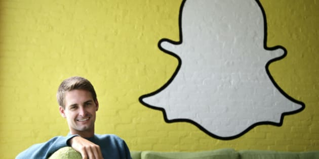 FILE - In this Thursday, Oct. 24, 2013, file photo, Snapchat CEO Evan Spiegel poses for a photo in Los Angeles. Tax-filing season is turning into a nightmare for thousands of employees working at companies tricked into relinquishing tax documents exposing people's incomes, addresses and Social Security numbers to scam artists. In fact, in a Feb. 28, 2016, post on its corporate blog, Snapchat revealed that its payroll department had been duped by an email impersonating Spiegel. (AP Photo/Jae C. Hong, File)