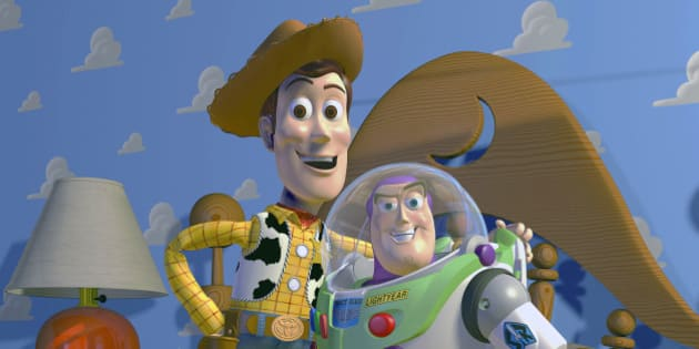 "This film publicity image released by Disney Pixar shows characters Woody, left, and Buzz Lightyear, from the animated film ""Toy Story.""  Disney Pixar announced Thursday, Nov. 6, 2014, it plans to produce ""Toy Story 4."" Pixar chief John Lasseter will direct the film, which is set for release in June of 2017. (AP Photo/Disney Pixar) ** NO SALES **"