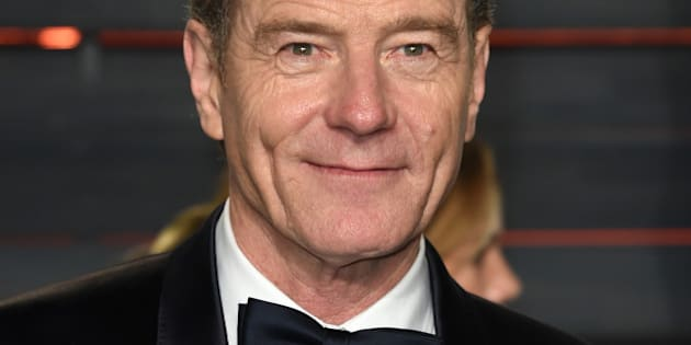 Bryan Cranston arrives at the Vanity Fair Oscar Party on Sunday, Feb. 28, 2016, in Beverly Hills, Calif. (Photo by Evan Agostini/Invision/AP)