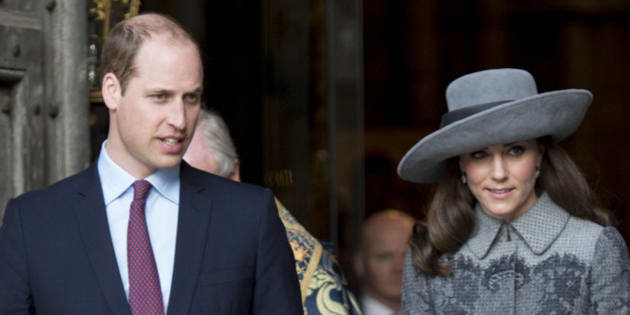 Photo by: KGC-178/STAR MAX/IPx 2016 3/14/16 Prince William The Duke of Cambridge and Catherine The Duchess of Cambridge at the Commonwealth Observance Day Service. (London, England, UK)
