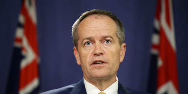 SYDNEY, AUSTRALIA - MARCH 21:  The Leader of the Australian Labor Party Bill Shorten addresses the media on March 21, 2016 in Sydney, Australia. Prime Minister Malcolm Turnbull earlier announced his decision to recall parliament early to vote on industrial relation legislation. The Prime Minister said he would call a double dissolution election, to be held on July 2, if the legislation  if the bills are not passed.  (Photo by Matt King/Getty Images)