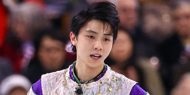 BOSTON, MA - APRIL 1: Yuzuru Hanyu of Japan reacts after competing during Day 5 of the ISU World Figure Skating Championships 2016 at TD Garden on April 1, 2016 in Boston, Massachusetts.  (Photo by Billie Weiss - ISU/ISU via Getty Images)