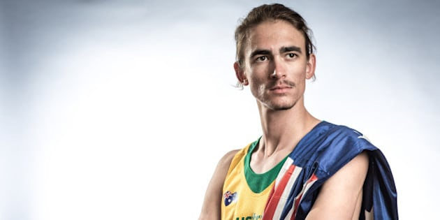WAKAYAMA, JAPAN - AUGUST 17:  High Jumper Brandon Starc of Australia poses for a portrait during a photo session at the Athletics Australia training camp on August 17, 2015 in Wakayama, Japan.  (Photo by Chris McGrath/Getty Images for Athletics Australia)
