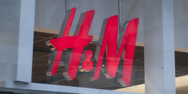 A general view of fashion retailers H&M signage in Cheapside on March 26, 2016 in  London, England. (Photo by John Keeble/Getty Images)