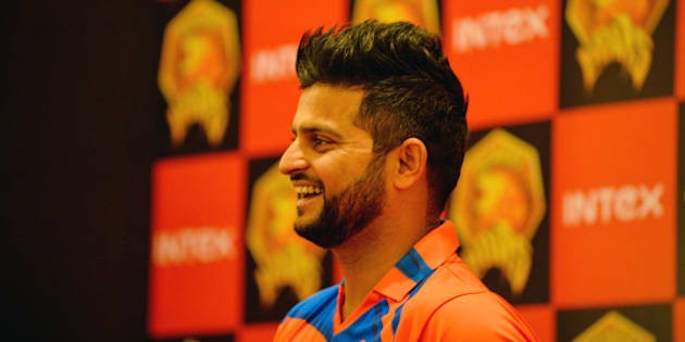 Indian Premier League Gujrat Lions cricket team captain Suresh Raina looks on during an event to unveil the team jersey in New Delhi on February 20, 2016. AFP PHOTO / CHANDAN KHANNA / AFP / Chandan Khanna        (Photo credit should read CHANDAN KHANNA/AFP/Getty Images)