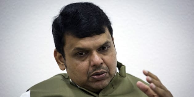 Maharashtra's chief minister Devendra Fadnavis speaks during an interview with Reuters at his official residence in Mumbai, India, July 9, 2015. India's wealthiest state plans to spend almost $16 billion over five to six years on a revamp of key infrastructure, reviving long-dormant projects including a Mumbai airport, a port and a key coastal road, Fadnavis said. Picture taken July 9, 2015. REUTERS/Danish Siddiqui
