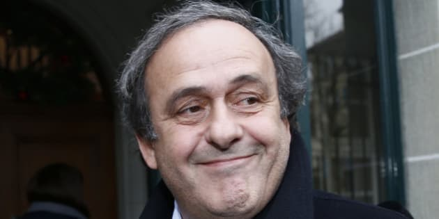 UEFA President Michel Platini smiles as he arrives for a hearing at the Court of Arbitration for Sport (CAS) in Lausanne, Switzerland December 8, 2015. Platini is trying to lift his provisional 90-day suspension barring him from seeking the presidency of soccer's scandal-plagued governing body FIFA.  REUTERS/Denis Balibouse