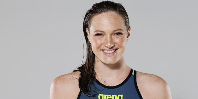 BRISBANE, AUSTRALIA - FEBRUARY 23:  Australian Swimmer Cate Campbell poses during a portrait session on February 23, 2016 in Brisbane, Australia.  (Photo by Chris Hyde/Getty Images)