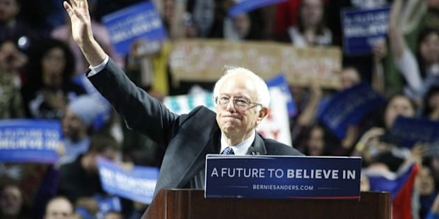 PHILADELPHIA, PA - APRIL 6 :  Bernie Sanders pictured speaking at a rally at the Liacoris Center at Temple U in Philadelphia, Pa on April 6, 2016  photo credit  Star Shooter / MediaPunch/IPX