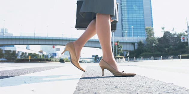 Image of woman's feet