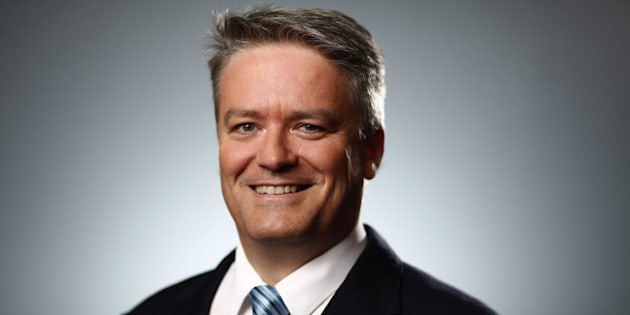 Mathias Cormann, Australia's finance minister, poses for a photograph following a Bloomberg Television interview at the World Economic Forum (WEF)in Davos, Switzerland, on Wednesday, Jan. 20, 2016. World leaders, influential executives, bankers and policy makers attend the 46th annual meeting of the World Economic Forum in Davos from Jan. 20 - 23. Photographer: Simon Dawson/Bloomberg via Getty Images