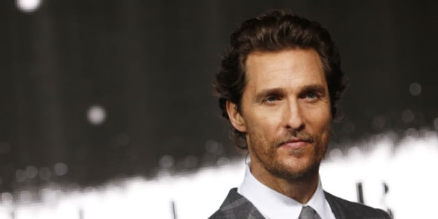 "Actor Matthew McConaughey arrives for the European premiere of ""Interstellar"" in Leicester Square in London October 29, 2014. REUTERS/Luke MacGregor (BRITAIN - Tags: ENTERTAINMENT)"