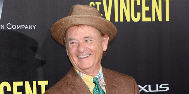 "Bill Murray attends the ""St. Vincent"" premiere at the Ziegfeld Theatre on Monday, Oct. 6, 2014, in New York. (Photo by Evan Agostini/Invision/AP)"