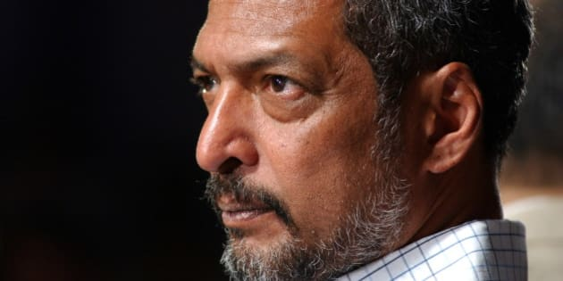 INDIA - JANUARY 13:  Nana Patekar, actor addressing the press meeting at Theater Utsav in Mumbai, Maharashtra, India  (Photo by Bhaskar Paul/The India Today Group/Getty Images)