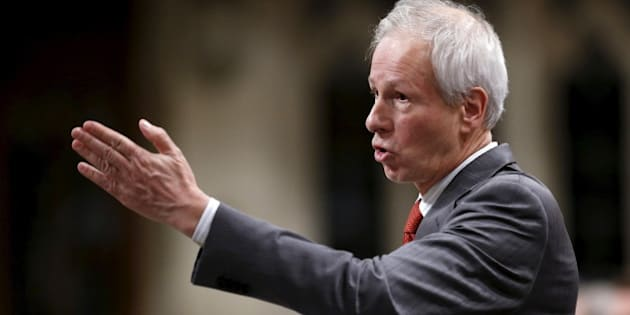Canada's Foreign Minister Stephane Dion speaks during Question Period in the House of Commons on Parliament Hill in Ottawa, Canada, December 8, 2015. REUTERS/Chris Wattie