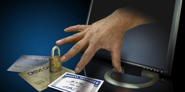 Identity theft on the web