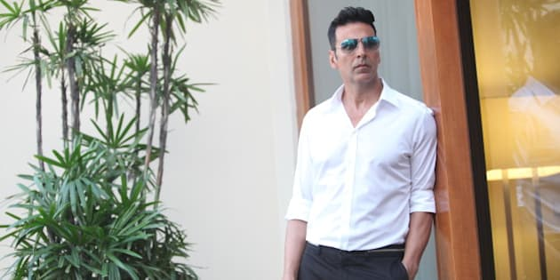 NEW DELHI, INDIA - SEPTEMBER 20: Bollywood actor Akshay Kumar poses for a profile shoot on September 20, 2015 in New Delhi, India. (Photo by Manoj Verma/Hindustan Times via Getty Images)