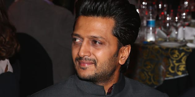 DELHI, INDIA - DECEMBER 07:  Riteish Deshmukh at the Coca-Cola gala dinner during the Coca-Cola International Premier Tennis League third leg at the Indira Gandhi Indoor Stadium December 7, 2014 in Delhi, Delhi.  (Photo by Clive Brunskill/Getty Images for IPTL 2014)